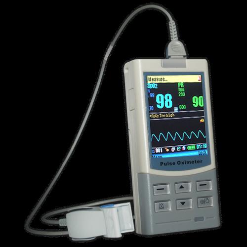 Pulsoximetru profesional MD300M, cu senzor pentru deget, adult 3