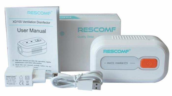 Rescomf - dispozitiv dezinfectare aparate CPAP/APAP/BiPAP 4