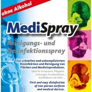 Solutie spray pt. curatare/dezinfectare masca CPAP - MediSpray Lemon (250 ml) 1