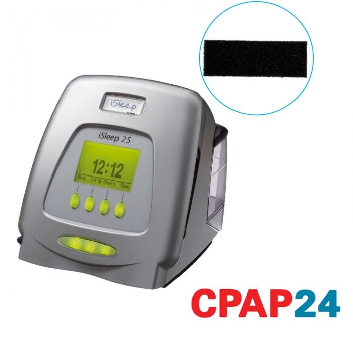 Filtru negru particule grosiere CPAP iSleep 0