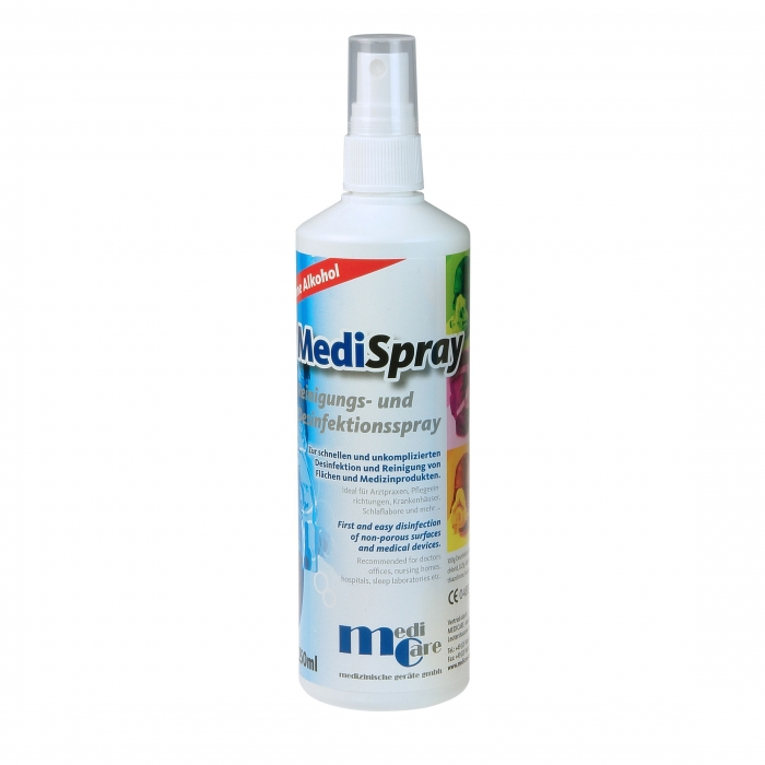 Solutie spray pt. curatare/dezinfectare masca CPAP - MediSpray Neutral (250 ml) 0