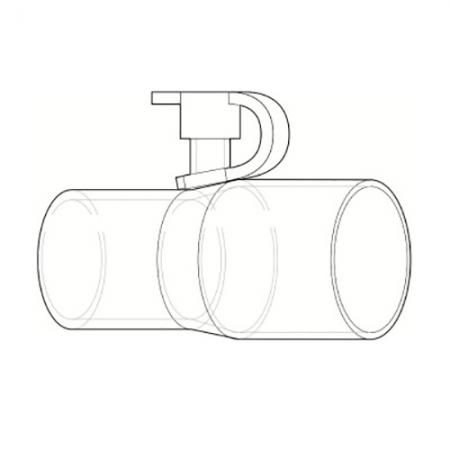 Adaptor furtun CPAP pentru aport de oxigen - Philips Respironics [2]