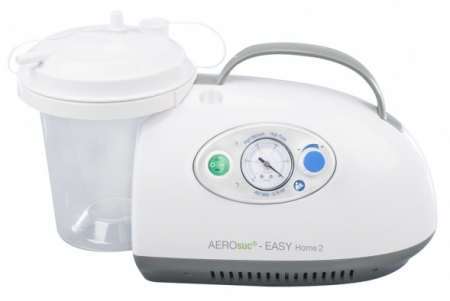 Aspirator Secretii AEROsuc EASY Home 2, 800 ml, 125-530 mmHg, 20 LPM, cu baterie0