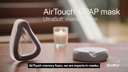 Perna silicon masca CPAP Full Face AirTouch F202