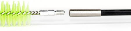 Perie curatare furtun CPAP, tija 5 segmente, 1.8m - 2in1 Premium CPAP Hose Brush4