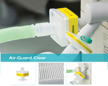 Filtru CPAP antibacterian si viral - Air-Guard Clear [1]