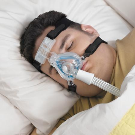 Masca CPAP Nazala ComfortGel Blue4