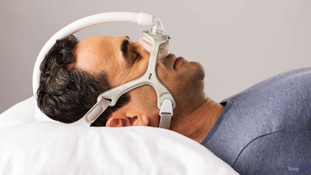 Masca CPAP Nazala WISP - cadru siliconic [4]