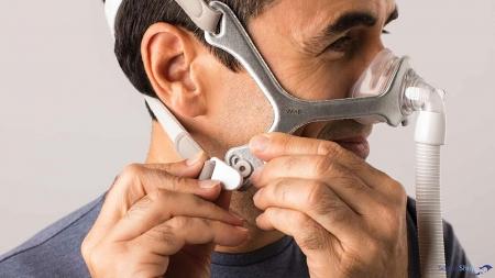 Masca CPAP Nazala WISP - cadru siliconic [2]