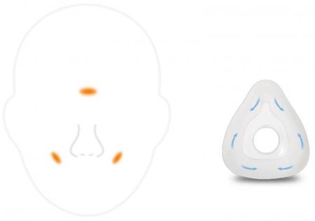 Masca CPAP Nazala Wizard 3105