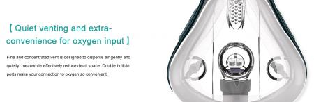 Masca CPAP oro-nazala BMC F1B [4]