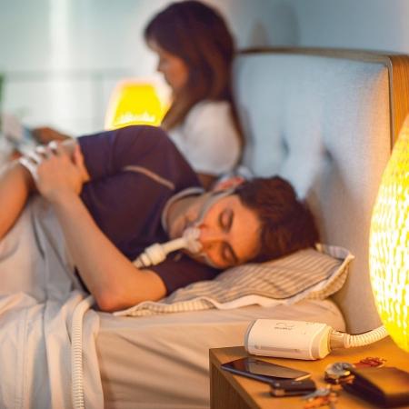 Masca CPAP Pillow AirFit P10 cu adaptor pt. AirMini6