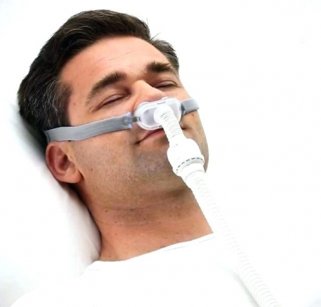 Masca CPAP Pillow AirFit P10 cu adaptor pt. AirMini4
