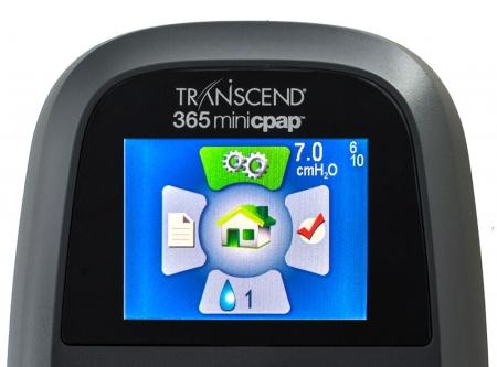 Mini APAP Portabil Transcend 365 AUTO cu Umidificator4