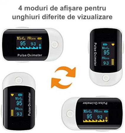 Pulsoximetru BiPPEX, display OLED7