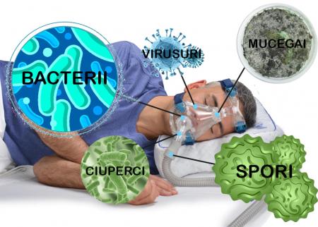 Servetele umede curatare/dezinfectare masca CPAP - MediWipes Neutral (115buc,30x30cm)2