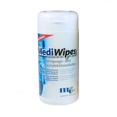 Servetele umede curatare/dezinfectare masca CPAP - MediWipes Neutral (115buc,30x30cm)0