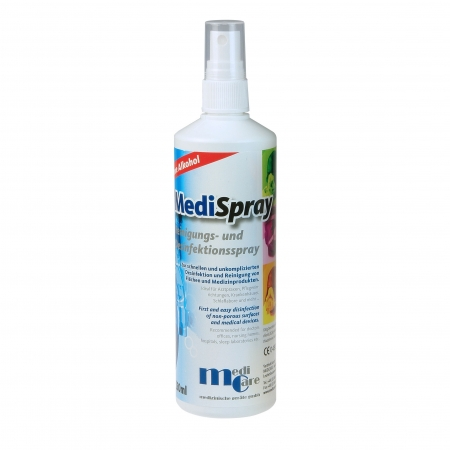Solutie spray pt. curatare/dezinfectare masca CPAP - MediSpray Neutral (250 ml)0