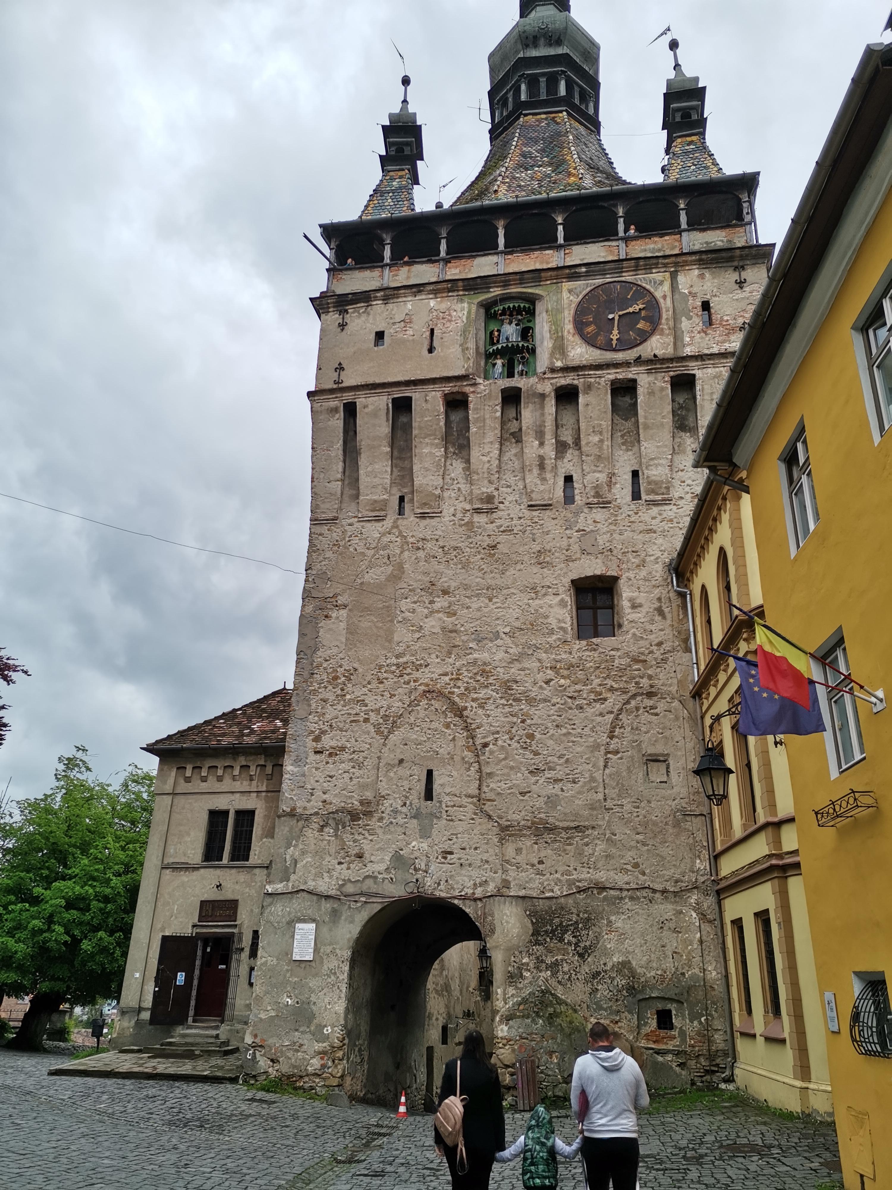 Cetatea Sighisoara - Turnul cu ceas