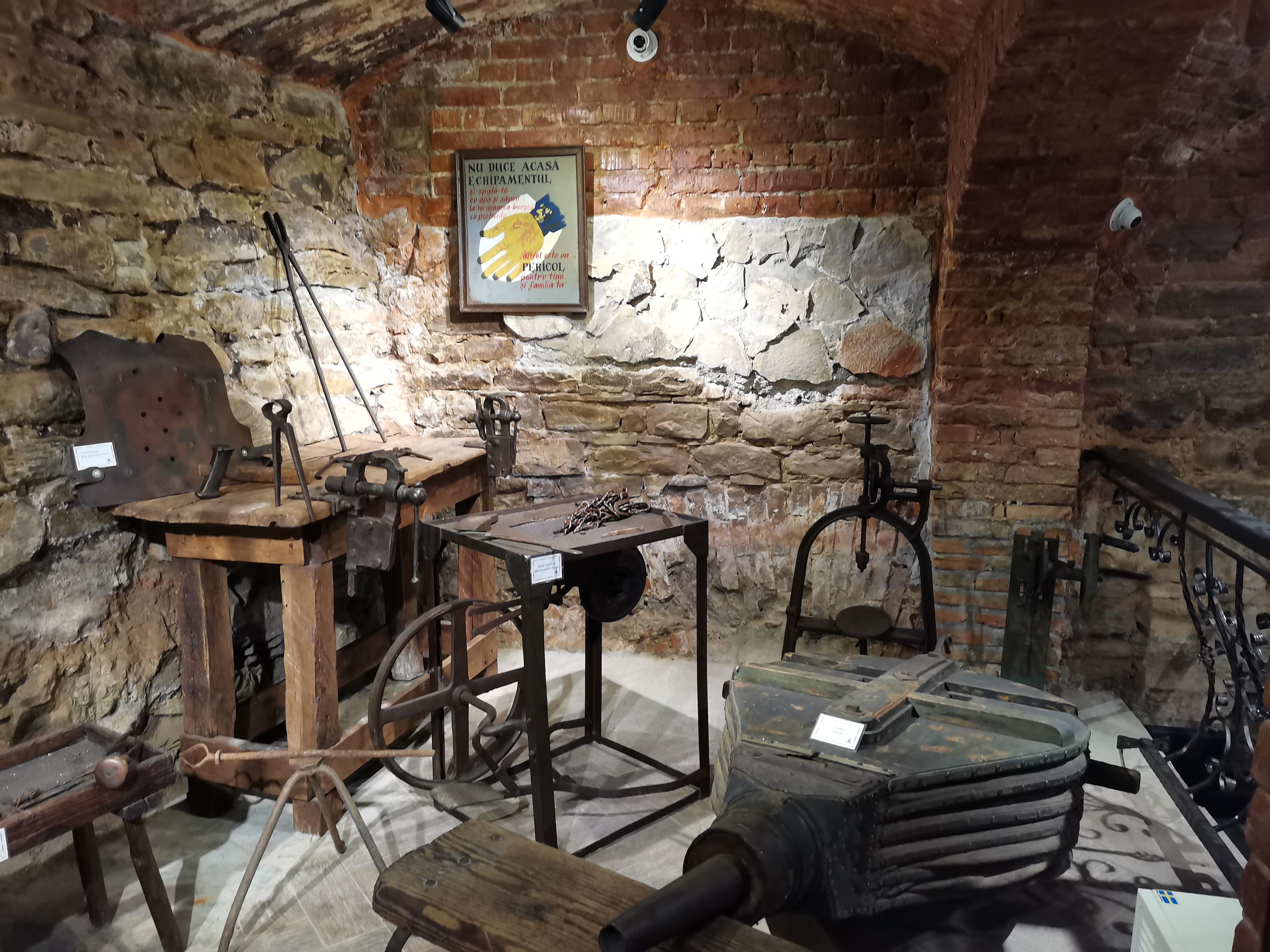 Casa Breslelor Sighisoara - Breasla fierarilor