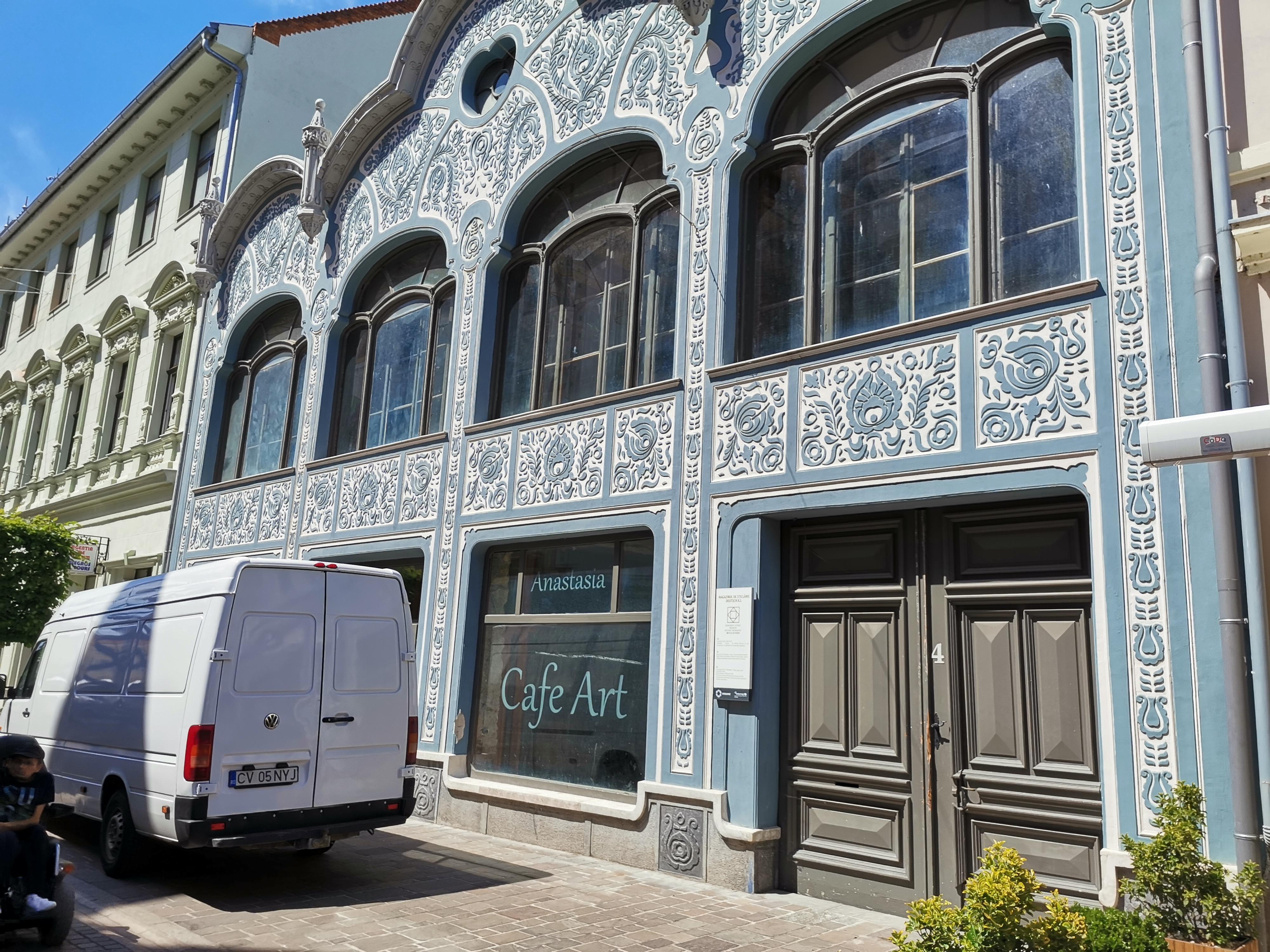 Magazin de sticlarie Oradea Art Nouveau