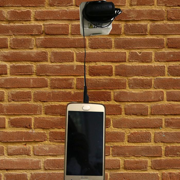 Husa telefon pentru incarcator, din piele, personalizata [1]