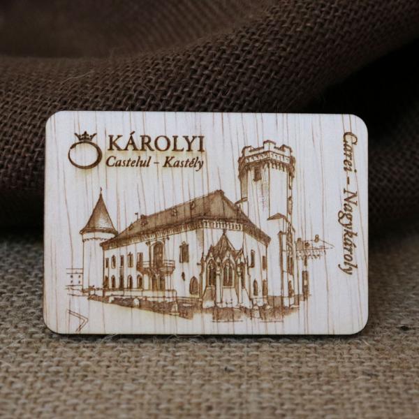 Magnet De Frigider,  ravat,  Castelul Karolyi Carei 0