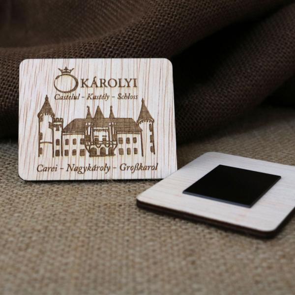 Magnet De Frigider Gravat,  Castelul Karolyi Carei 1