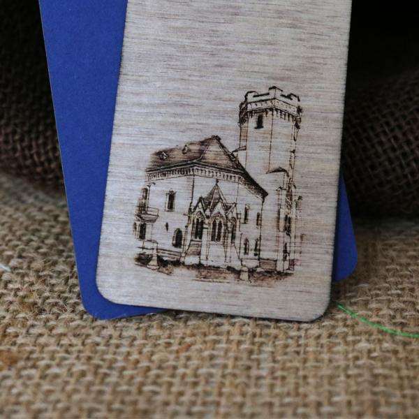 Semn de carte gravat Castelul Karolyi Carei 3