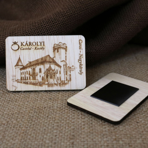 Magnet De Frigider,  Gravat,  Castelul Karolyi Carei1