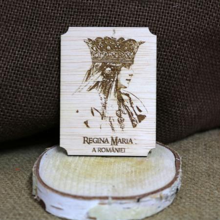 Magnet de frigider gravat Regina Maria a Romaniei0