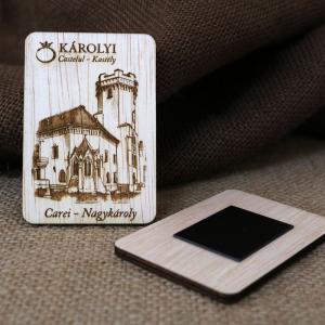 Magnet De Frigider Gravat,  vertical, Castelul Karolyi Carei3