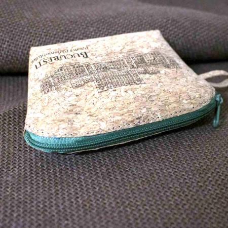 Portofel Pentru Monede, Gravat Din Pluta – Palatul Parlamentului [6]