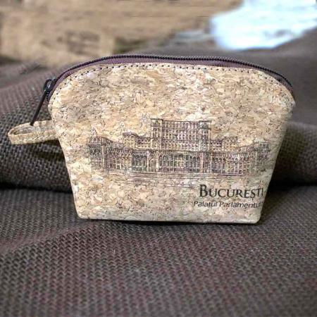 Portofel Pentru Monede, Gravat Din Pluta – Palatul Parlamentului [4]