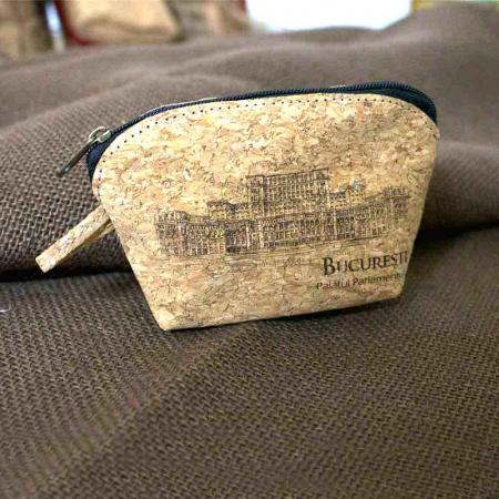Portofel Pentru Monede, Gravat Din Pluta – Palatul Parlamentului [1]