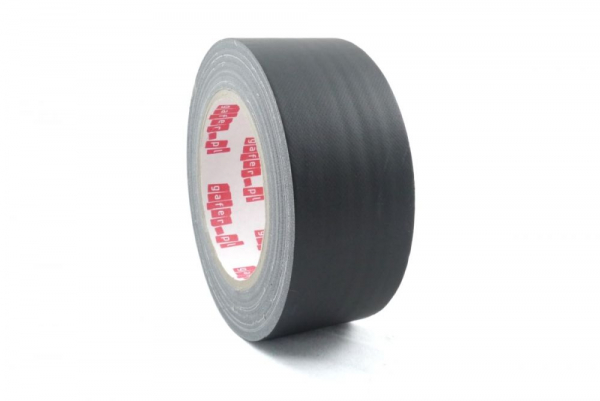 Tesa Band Gafer MAX Matt black fabric gaffer tape 1