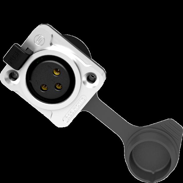 Mufa XRL pannel Seetronic SETK3F2CW [0]
