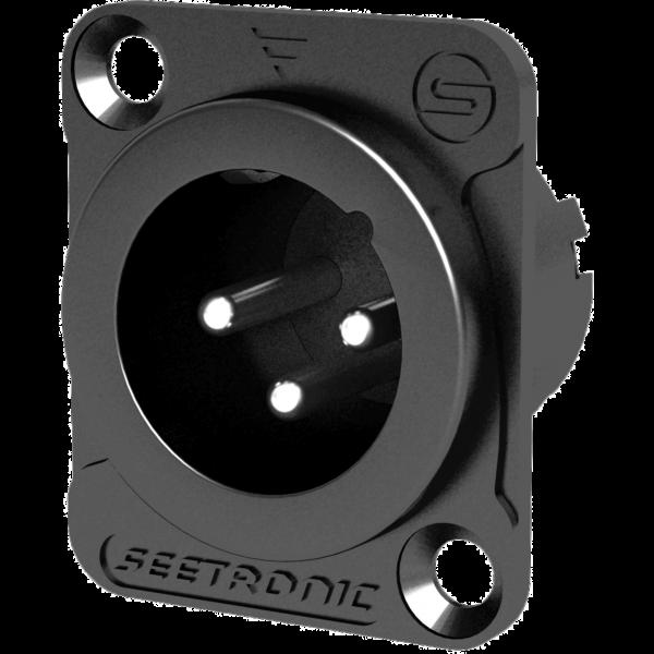 Mufa XRL pannel Seetronic SETMJ3F2CB 0