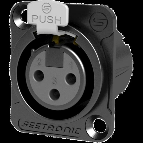 Mufa XRL pannel Seetronic SETMK3F2CB 0
