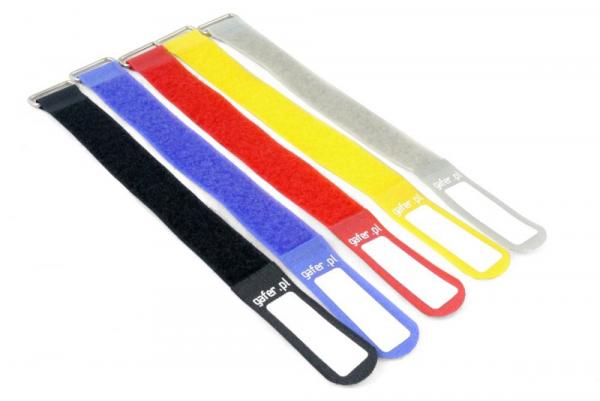 Gafer.pl Velcro 25 x 260mm diverse culori [1]