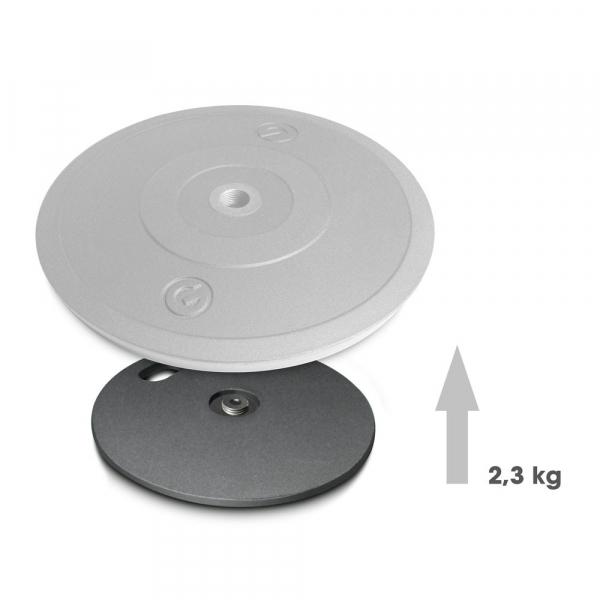 Greutate pentru baza rotunda stander microfon Gravity MS 2 WP [1]