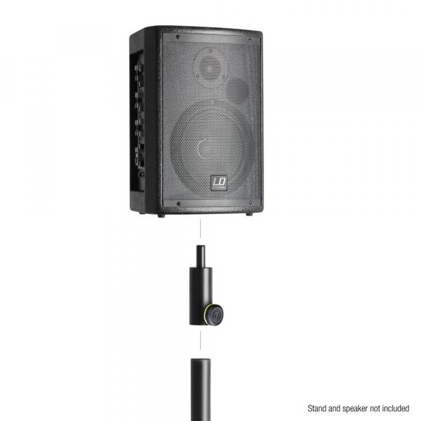 Flansa adaptor reducer pentru stative de boxe  Gravity SF 3616 M [2]
