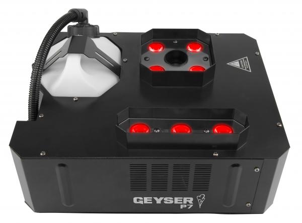 CHAUVET DJ Geyser P7 Masina de ceata cu jet vertical si 7 LED de 9W RGBA+UV 0