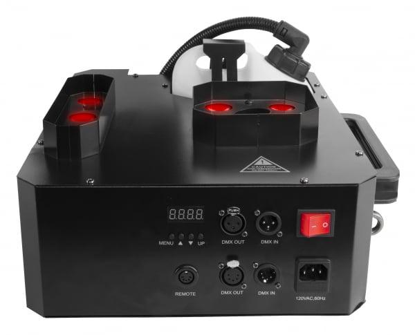 CHAUVET DJ Geyser P7 Masina de ceata cu jet vertical si 7 LED de 9W RGBA+UV 1