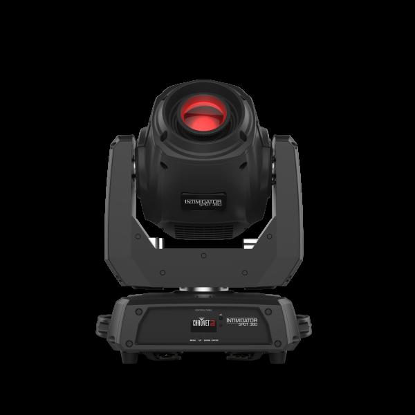 CHAUVET DJ Intimidator Spot 360 Moving Head Spot cu LED de 100W 2 Prisme Focus motorizat si Zoom manual 0