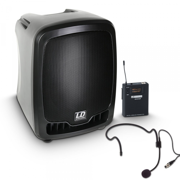 Boxa Activa Portabila cu in ear si headset LD Systems ROADBOY 65 HS 0