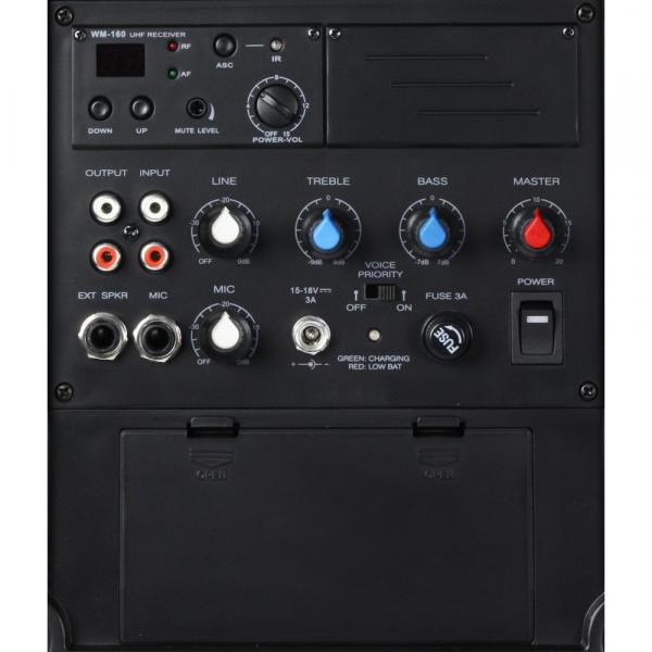 Boxa Activa Portabila cu in ear si headset LD Systems ROADBOY 65 HS 5
