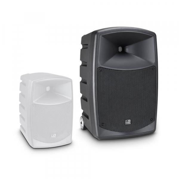 Boxa Activa Portabila cu baterii Bluetooth cu Microfon Wireless LD Systems ROADBUDDY 10 B5 [9]