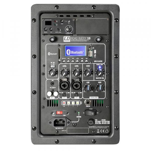 Boxa Activa Portabila cu baterii Bluetooth cu Microfon Wireless LD Systems ROADBUDDY 10 B5 [4]