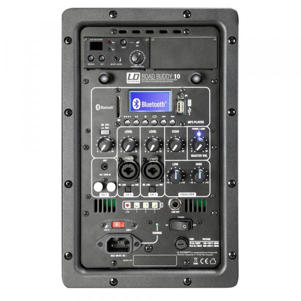 Boxa Activa Portabila cu baterii Bluetooth cu Microfon Wireless LD Systems ROADBUDDY 10 B6 [4]